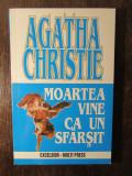 MOARTEA VINE CA UN SFARSIT -AGATHA CHRISTIE
