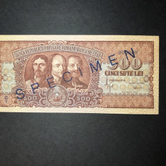 SPECIMEN UNC - 500 LEI 1949 - Bancnota romaneasca