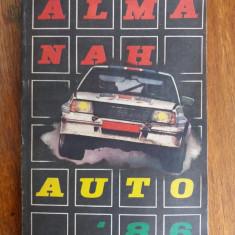 Almanah Auto 1986  / R5P3S, Alta editura