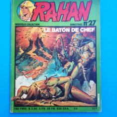 RAHAN Nr 27 --an 1982 - Reviste benzi desenate
