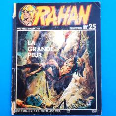 RAHAN Nr 25 -- an 1982 - Reviste benzi desenate