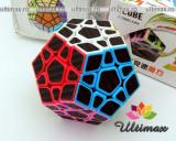 ZCube- Carbon Fiber Megaminx - Cub Rubik Profesional