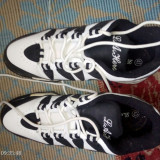 Încălțăminte (adidași) marca L.A. Hero, noi, mărimea 43, culoare alb/negru - Adidasi barbati, Culoare: Multicolor