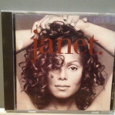 JANET JACKSON - JANET (1993/VIRGIN/HOLLAND) - ORIGINAL/, CD, virgin records