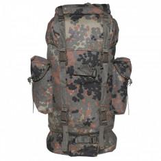 Rucsac MFH BW Combat Camuflaj Flecktarn Cordura 65L 30243V, 25 L