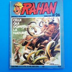 RAHAN Nr 26 --an 1982 - Reviste benzi desenate