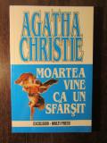 MOARTEA VINE CA UN SFARSIT-AGATHA CHRISTIE