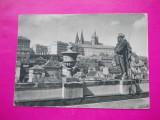 HOPCT 36732 PRAGA CENTRUL EUROPEAN LIMBA ESPERANTO 1957 CEHIA-STATUIA-CIRCULATA