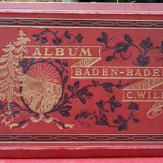 ALBUM FOTO VERLAG VON C. WILD IN BADEN-BADEN - Harta Europei