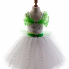 Costum serbare tutu Lacramioara, Ghiocel, Varsta 4-5 ani, Handmade
