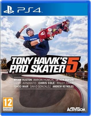 Tony Hawks Pro Skater 5 Ps4 foto