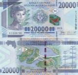 Guinea 20 000 Francs 2015 UNC
