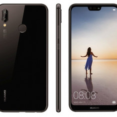 HUAWEI P20 LITE BLACK/PINK SIGILAT LIBER DE RETEA LA CEL MAI MIC PRET - Telefon Huawei, Negru, 64GB, Neblocat, Single SIM, Octa core