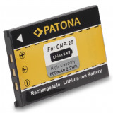 PATONA | Acumulator pt CASIO EXILIM NP-20 NP20 Li-Ion NP 20  baterie 600mAh