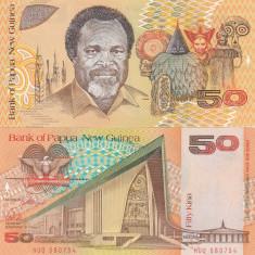 Papua New Guinea 50 Kina 1989 UNC