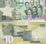 Ghana 10 Cedis O.07.2015 UNC