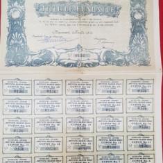 TITLU DE FUNDATOR - BUCURESCI, 1912