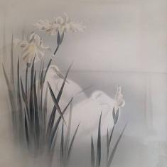 Acuarela China - Pasari si flori I