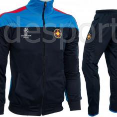 Trening Steaua - FCSB - Bluza si pantaloni conici - Modele noi - 1207 - Trening barbati, Marime: S, Culoare: Din imagine