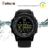 Sport Smartwatch Ceas Inteligent EX17, 50M-IP67 Water-Resist ,Shock Resist,Noi, Plastic, Silicon