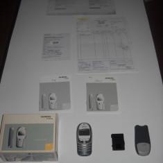 Telefon mobil Siemens model A 57, nefunctional si fara incarcator, pt colectie, Gri, Nu se aplica, Neblocat, Fara procesor