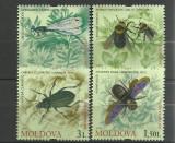 Moldova 2009 - insecte, serie neuzata