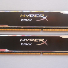 Memorie Ram Kingston HyperX Black 16 GB (2 X 8 GB) 1600Mhz., DDR 3, Dual channel