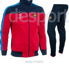 Trening Steaua - FCSB - Bluza si pantaloni conici - Modele noi - 1195 - Trening barbati, Marime: S, Culoare: Din imagine