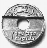 ISRAEL FISA / JETON VECHI TELEFON - 20 mm **
