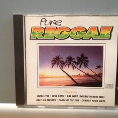 PURE REGGAE - VARIOUS ARTISTS (1995/K-TEL/GERMANY) - cd ORIGINAL - Muzica Reggae