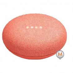 Google Home Mini Coral Roșu