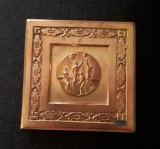 Placheta Baschet Romania - 1959 - R.P.R. - medalie