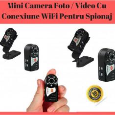 Mini Camera Foto / Video Cu Conexiune WiFi Pentru Spionaj / Spy Mini Camera