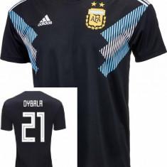 Tricou ARGENTINA, 21 DYBALAmodeL AWAY WORLD CUP 2018 - Tricou echipa fotbal, Marime: L, M, S, XL, XS, Culoare: Din imagine, De club, Manchester City, Maneca scurta