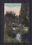 CRAIOVA  VEDERE DIN PARC, Necirculata, Printata