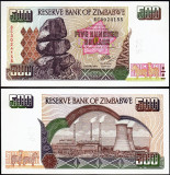 !!! ZIMBABWE - 500 DOLARI 2004  - P 11 b  - UNC