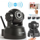 CAMERA VIDEO IP CAMERA WIRELESS cu imagine foarte clara pe timp de noapte