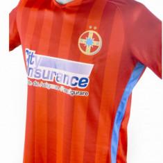 Tricou FCSB, SUPER MODEL - Tricou echipa fotbal, Marime: L, M, S, XL, XS, Culoare: Din imagine, De club, Steaua Bucuresti, Maneca scurta