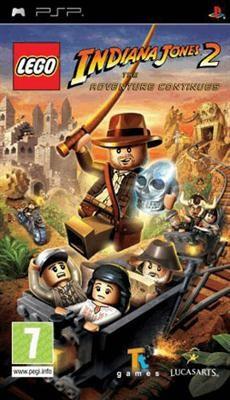 Lego Indiana Jones 2 Psp foto