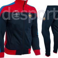 Trening Steaua - FCSB - Bluza si pantaloni conici - Modele noi - 1020 - Trening barbati, Marime: S, Culoare: Din imagine