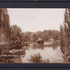 CRAIOVA   PARCUL BIBESCU  LACUL  FOTO UNION BUCURESTI, Necirculata, Fotografie