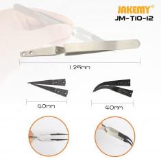 Set penseta antistatica Jakemy JM T10-12, capete interschimbabile