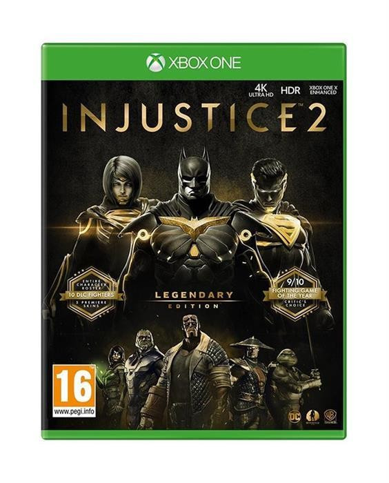Injustice 2 Legendary Edition Xbox One foto mare