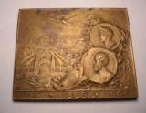 Placheta Regele Carol I - Regele vegheaza, Romania infloreste 1906