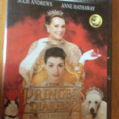 THE PRINCESS DIARIES 2 - FILM DVD ORIGINAL - Film romantice disney pictures, Engleza