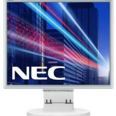 Monitor TN LED Nec 17inch E171M, SXGA (1280 x 1024), VGA, DVI, 5 ms, Boxe (Alb)