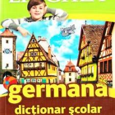 Dictionar scolar german-roman si roman-german