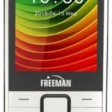 Telefon Mobil Freeman Speak T301, TFT 2.8inch, Bluetooth, Dual Sim (Alb)