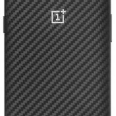 Protectie Spate OnePlus Karbon Bumper pentru OnePlus 5T (Negru) - Husa Telefon