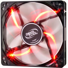 Ventilator Deepcool Wind Blade, 120mm (Led Rosu) - Cooler PC
